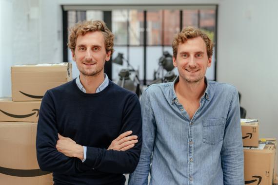 Riccardo y Alessio Bruni, fundadores de Heroes.