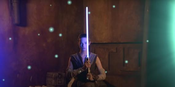 Sable de luz de Star Wars real