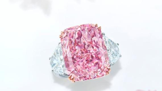 'Sakura', el diamante rosa más grande subastado.
