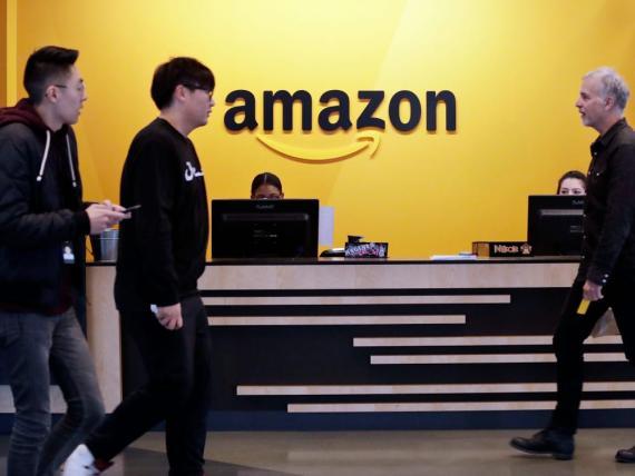 El salario medio anual en Amazon es de 24.145 euros (29.007 dólares), según la declaración de representación anual de la compañía.