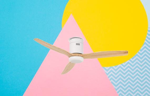 ventilador de techo conectado