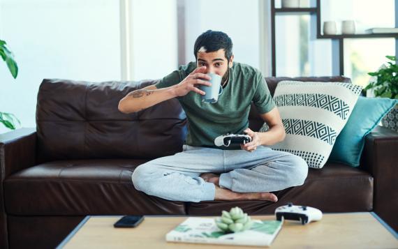 Videojuegos café