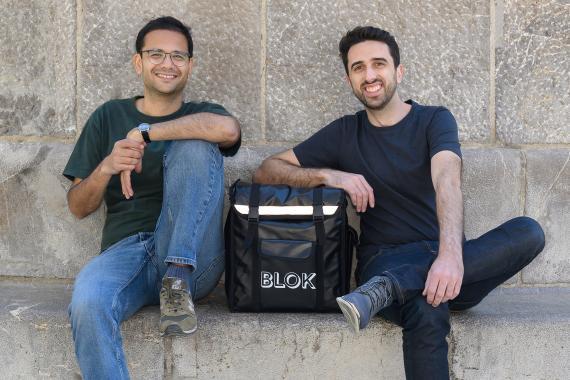 Vishal Verma y Hunab Moreno, fundadores de Blok
