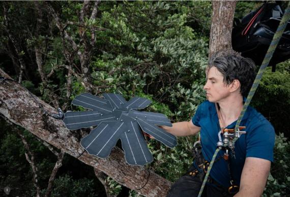 Topher White, CEO de Rainforest Connection.