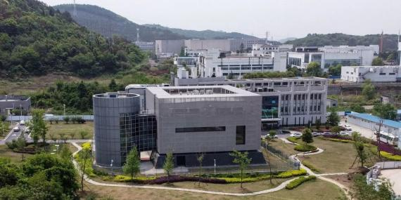 El laboratorio P5 en el Instituto de Virología de Wuhan, Hubei, china, el 17 de abril de 2020.
