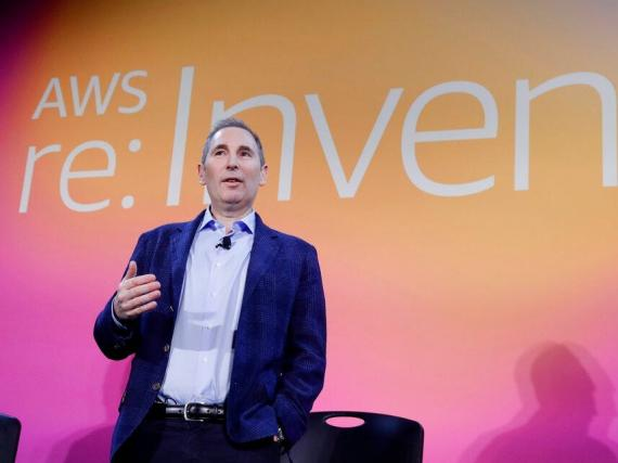 Andy Jassy, directivo de Amazon que reemplazará en el cargo de CEO a Jeff Bezos.