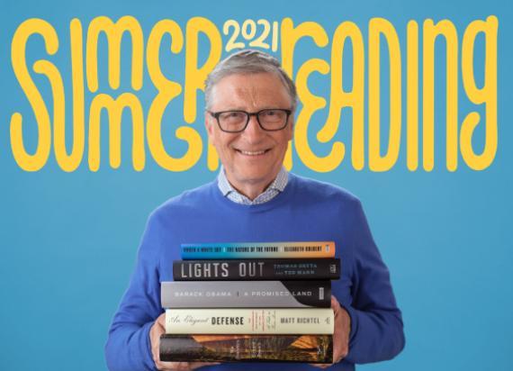Recomendación personal de libros para leer en verano de Bill Gates.