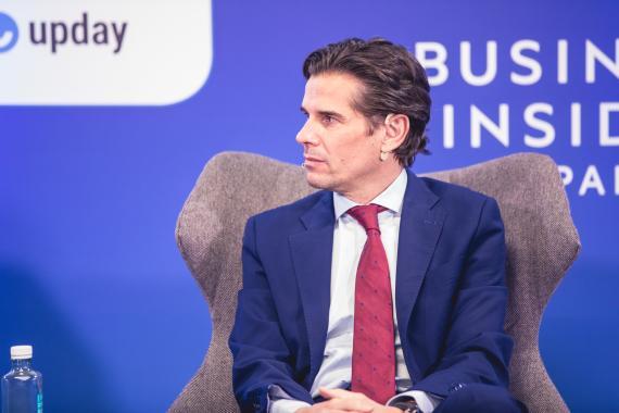 Christian Boutin, director general de Amadeus en España y Portugal