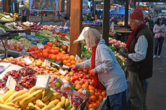 Comer frutas y verduras formula longevidad
