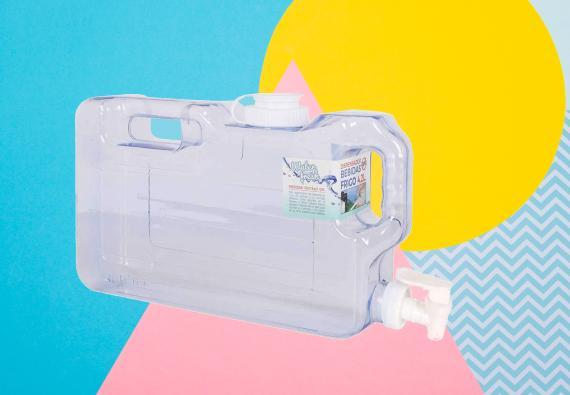 dispensador agua fria nevera