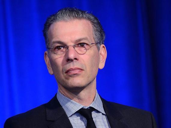 El Dr. David Feinberg, director de Google Health, imparte una conferencia como director general de Geisinger Health en 2015. Lisa Lake/Getty Images