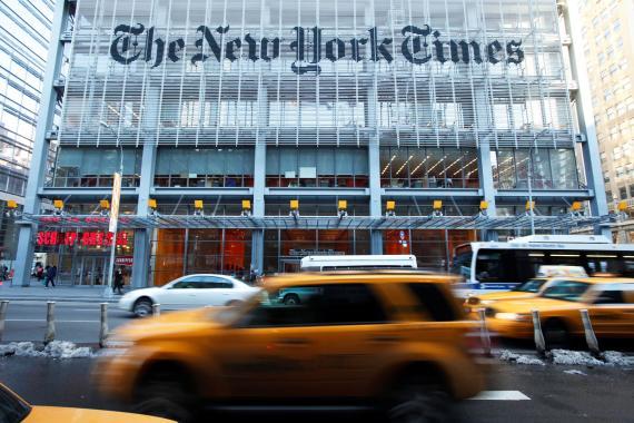 Edificio de The New York Times