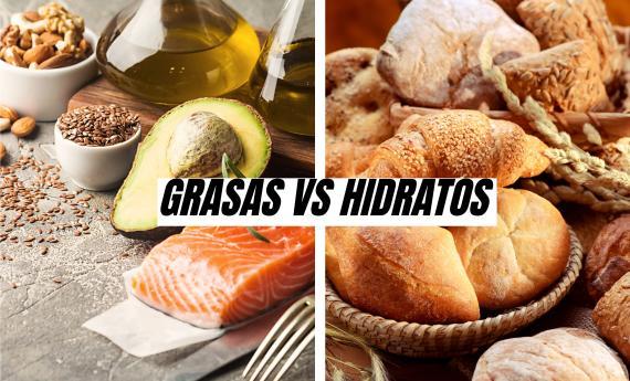 Grasas vs Hidratos