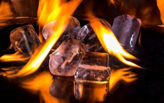 Hielo y fuego.