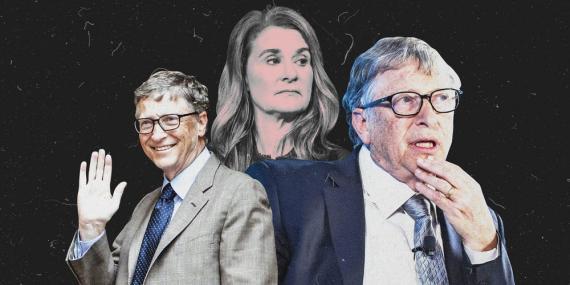 Los Insiders afirman que Bill Gates tiene 2 caras.