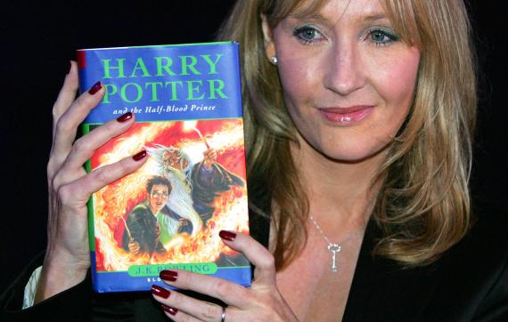 JK Rowling, autora de la saga Harry Potter