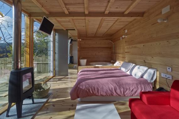 Modelo K350 de las casas prefabricadas modulares de Kiwi Homes.