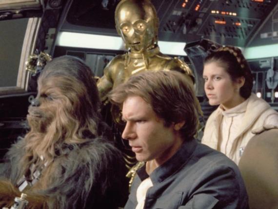 'Star Wars: Episodio IV - Una nueva esperanza', la primera película de la franquicia, se estrenó en 1977.