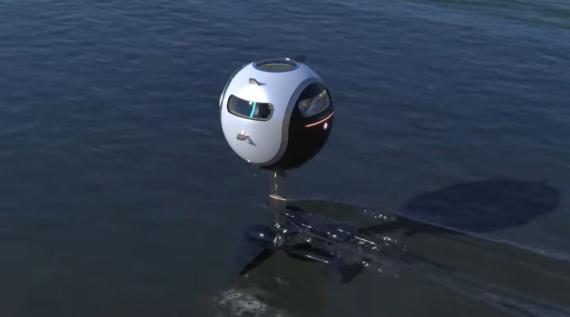 Captura Stratosfera, el coche que vuela, rueda y navega.