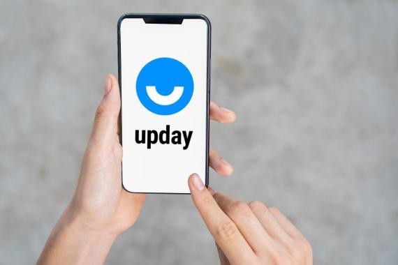 upday en iPhone