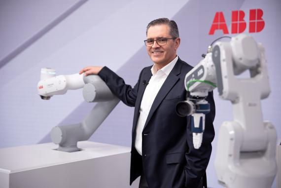 Sami Atiya, presidente de la división de Robótica y Automatización Discreta de ABB