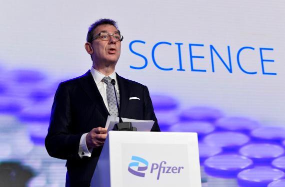 Albert Bourla, CEO de Pfizer.
