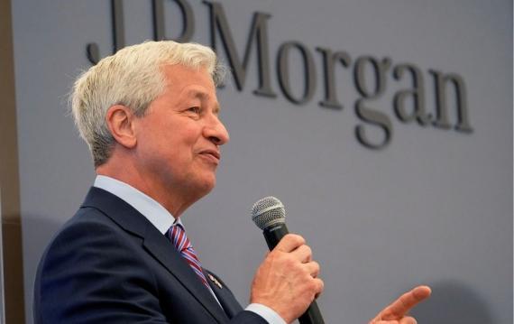 El CEO de JP Morgan, Jamie Dimon.