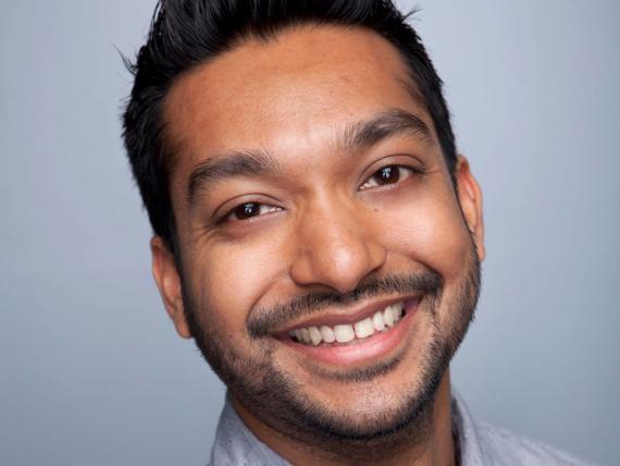 CEO Kickstarter, Aziz Hasan