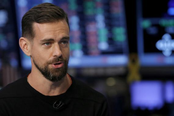 El CEO de Square y Twitter, Jack Dorsey.