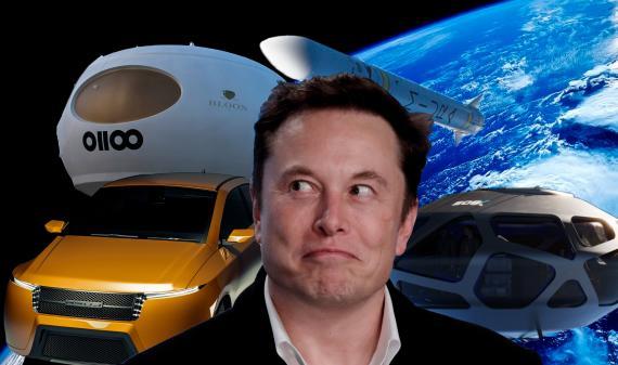Elon Musk rodeado de algunas de las empresas españolas especializadas en las mismas áreas que sus compañías. Lupa Motors, PLD Space, EOS-X-Space o Space 2 Infinity son algunos ejemplos.