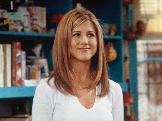 La actriz Jennifer Aniston encarnaba Rachel Green en 'Friends'.