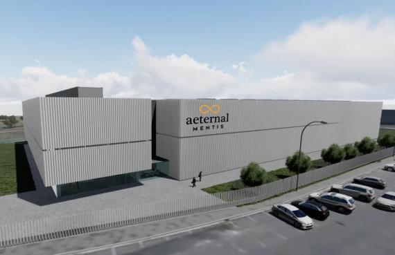 Futuro centro de inteligencia artificial de Aeternal Mentis.