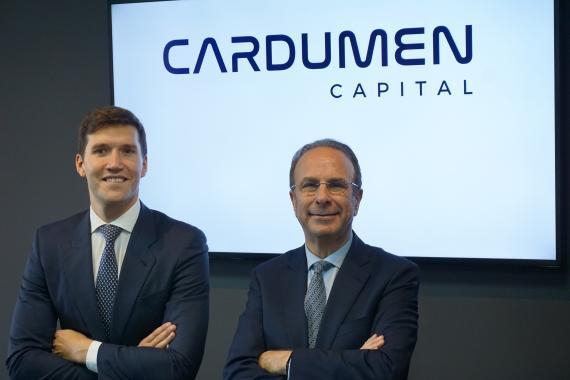 Gonzalo Martínez de Azagra, cofundador y socio director, y Gil Gidron, presidente de Cardumen Capital