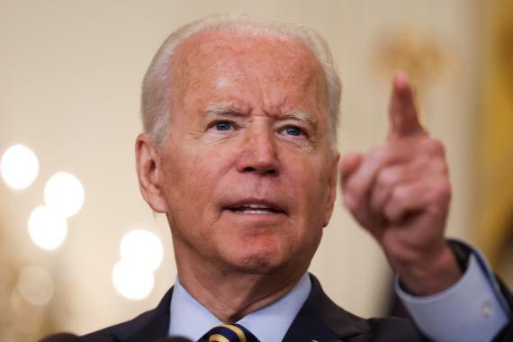 El presidente Joe Biden durante un acto reciente en la Casa Blanca.
