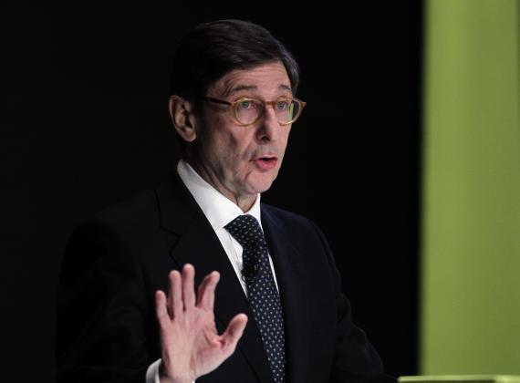El presidente de CaixaBank, José Ignacio Goirigolzarri