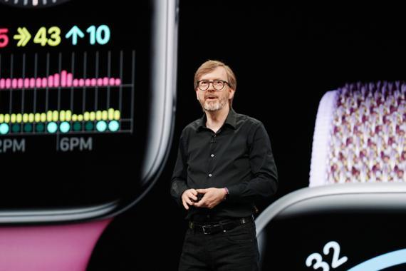 Kevin Lynch en una presentación en 2019.