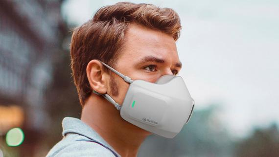 LG Mascarilla Purificadora de Aire y Reutilizable