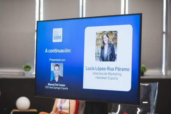 Lucía López-Rúa Páramo, directora de Marketing de Heineken España.