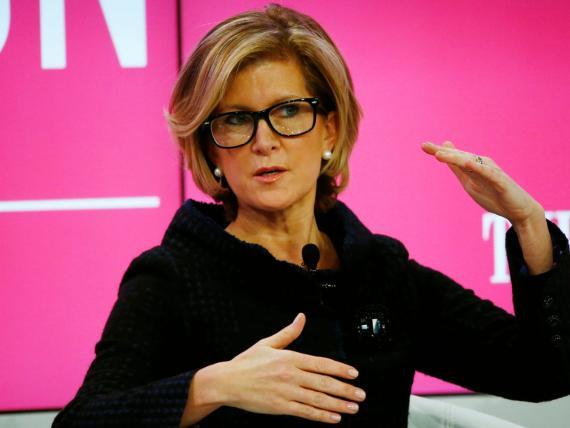 La ejecutiva Mary Callahan Erdoes, ejecutiva de JP Morgan.