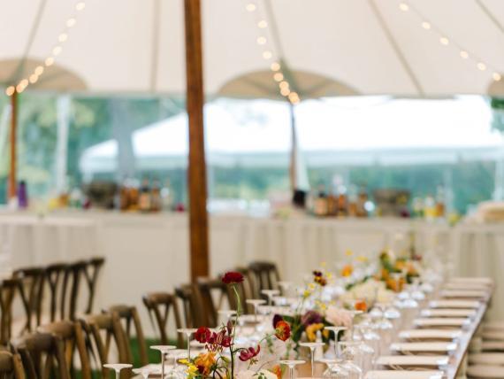 Mesa de una boda.