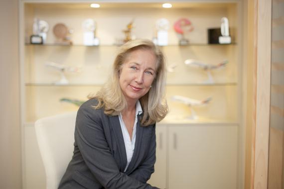 Monika White, directora general de Emirates en España