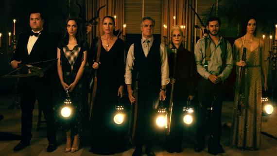 'Noche de bodas', peli de terror exagerada en donde los ricos cazan personas porque pueden. ¿Qué otra cosa esperabas que hicieran? ¿Macramé?