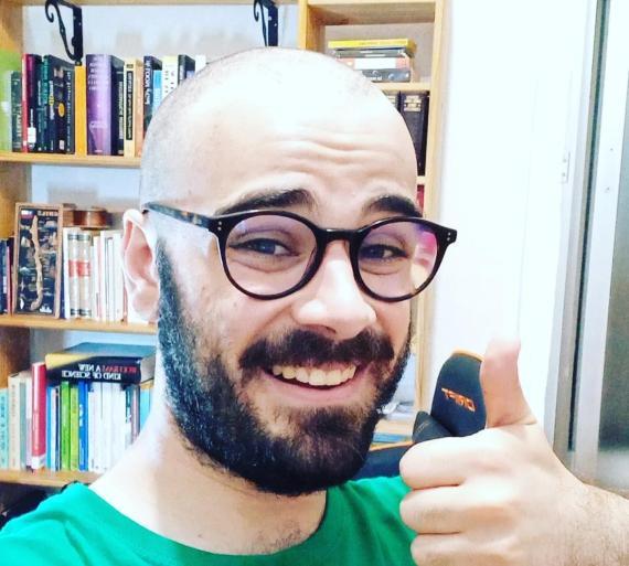 Pablo Díaz, ganador del bote de 'Pasapalabra'.
