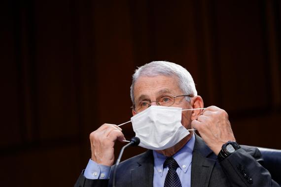 Anthony Fauci, director del Instituto Nacional de Alergia y Enfermedades Infecciosas de EE. UU.