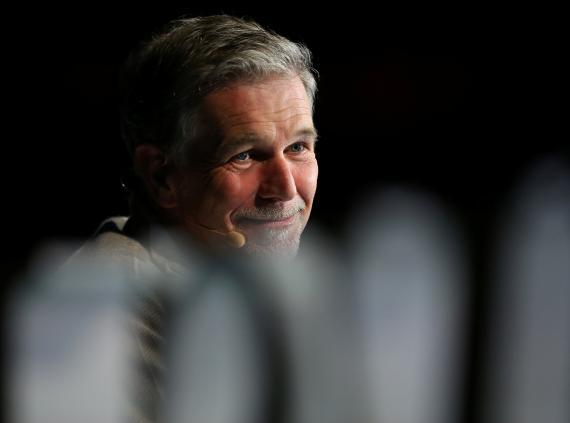 Reed Hastings, CEO de Netflix.