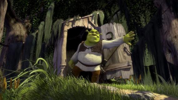 Minipunto si al ver a Shrek arriba has cantado mentalmente el 'Somebody once told me...'