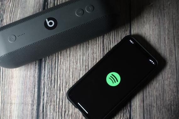 Spotify aplicación