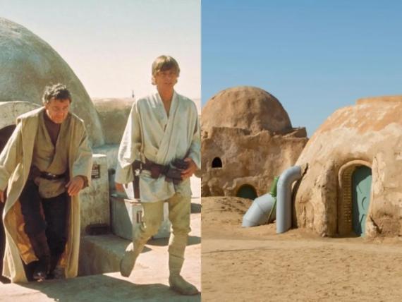 'Star Wars' y el espacio real situado en Tunez.