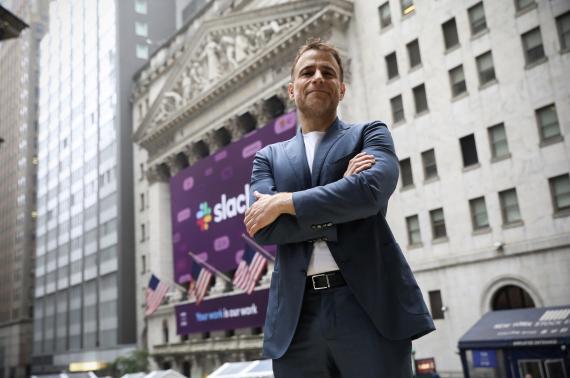 Stewart Butterfield, CEO de Slack