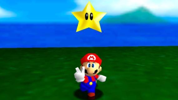 Super Mario 64 pose